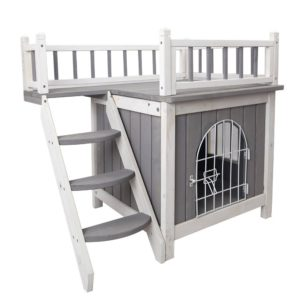 two story dog kennel