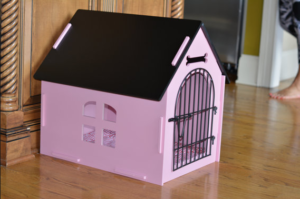 cutest indoor dog house for girl dog